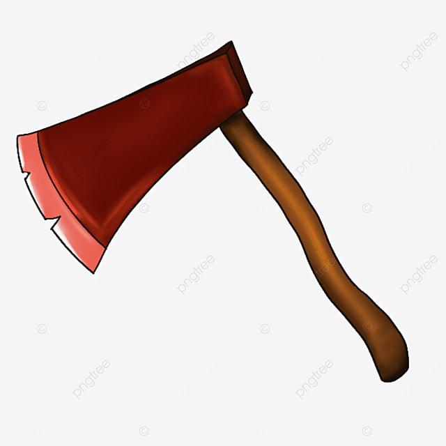 wood chopping axe clip art
