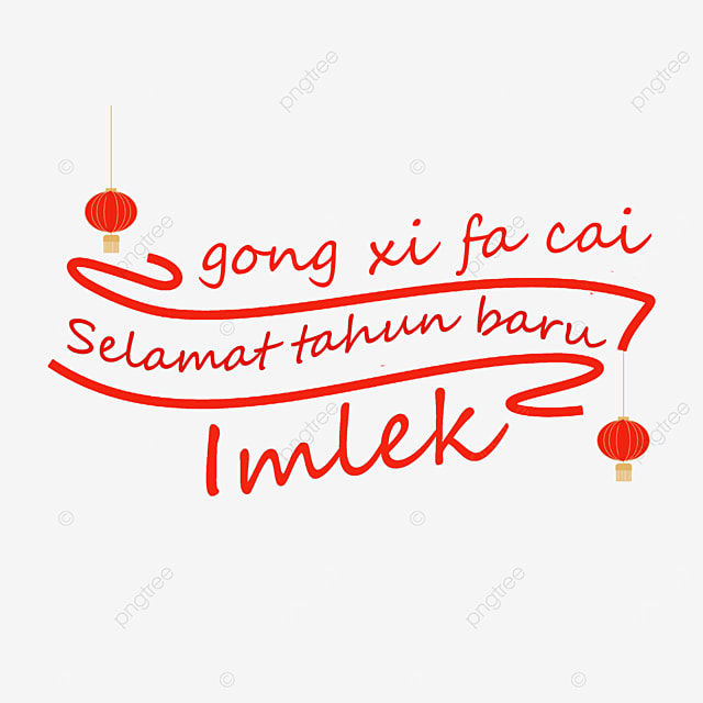 congratulations to the new year indonesia chinese new year