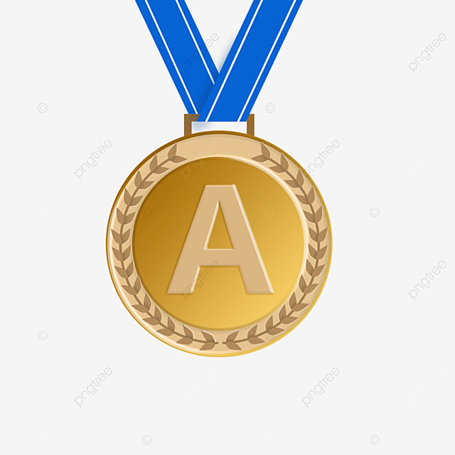 contest gold medal clipart
