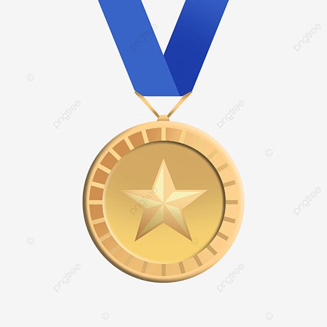 five pointed star honor metal medal