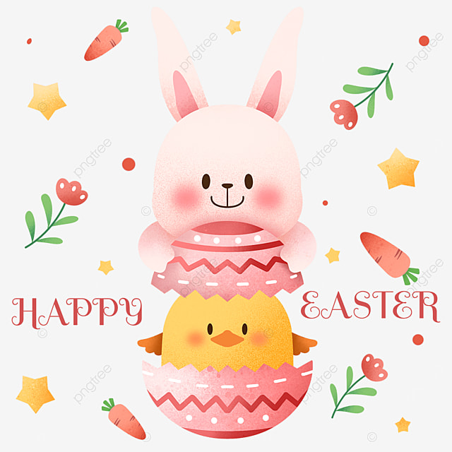 happy easter creative egg