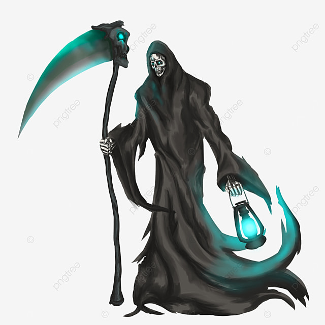 lantern grim reaper clip art