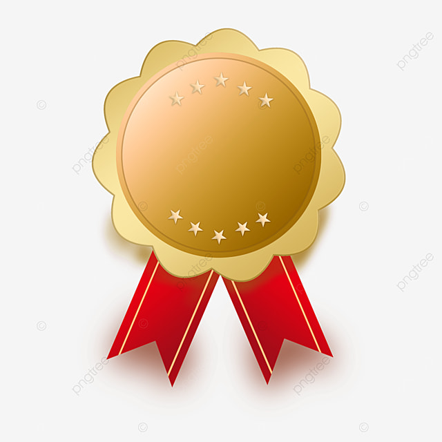 new and innovative gold medal model clipart