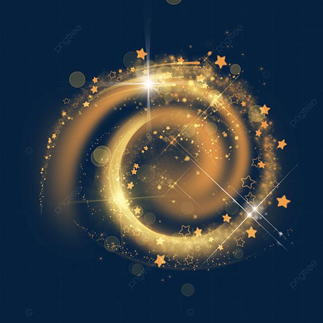 orange grainy spiral magic wand aperture lighting effect