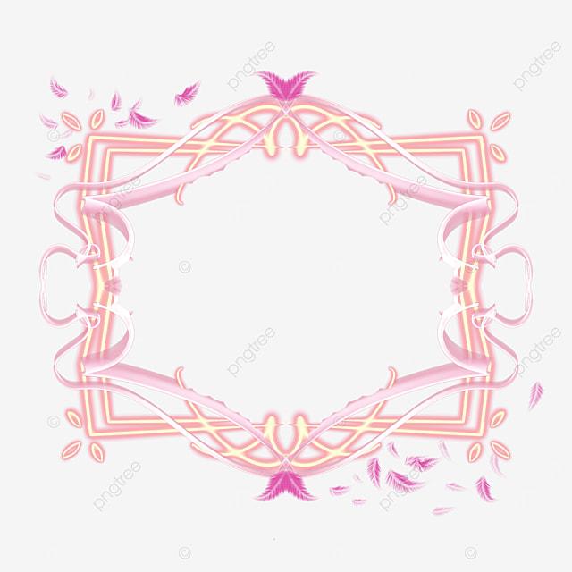 rose gold border