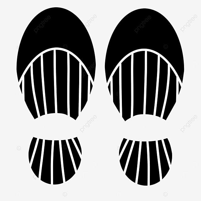shoe print clip art dress shoes