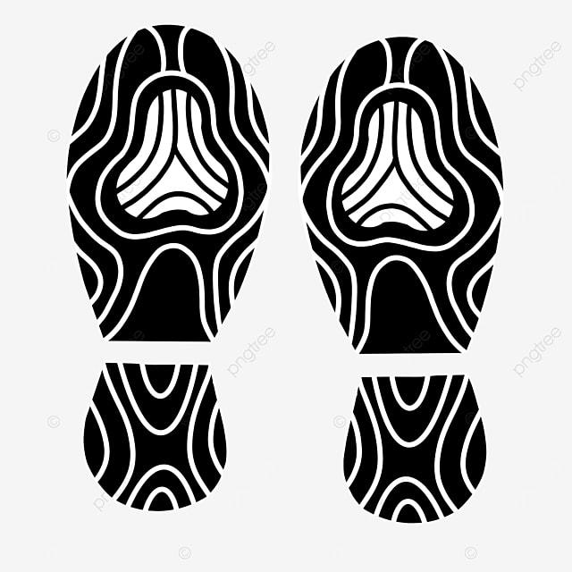 shoe print clip art football shoes