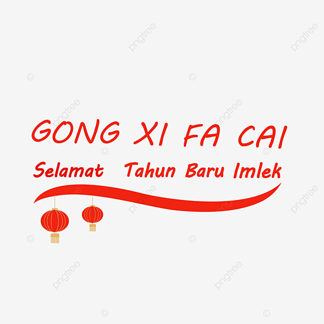 simple chinese new year in indonesia
