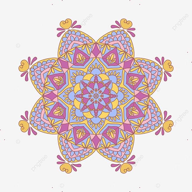 beautiful vintage floral pattern asian pattern mandala ornament abstract texture