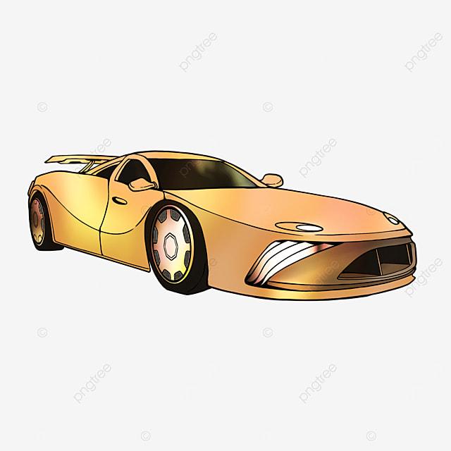cartoon transport sports car clipart