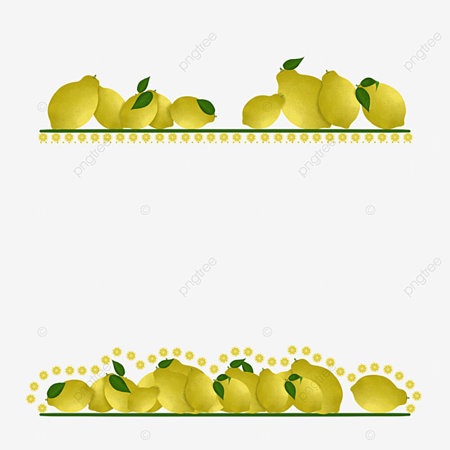 creative lemon border
