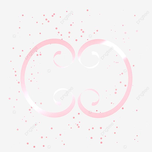 floral pattern style rose gold metal border