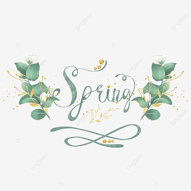 green spring font svg