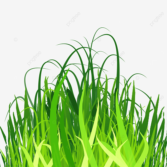 layered spring easter green grass