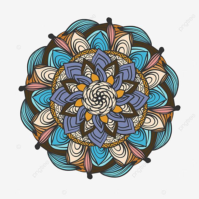 line mandala ornament abstract texture