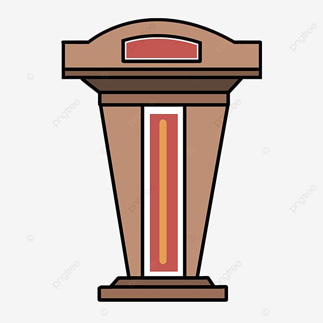 log color podium clip art