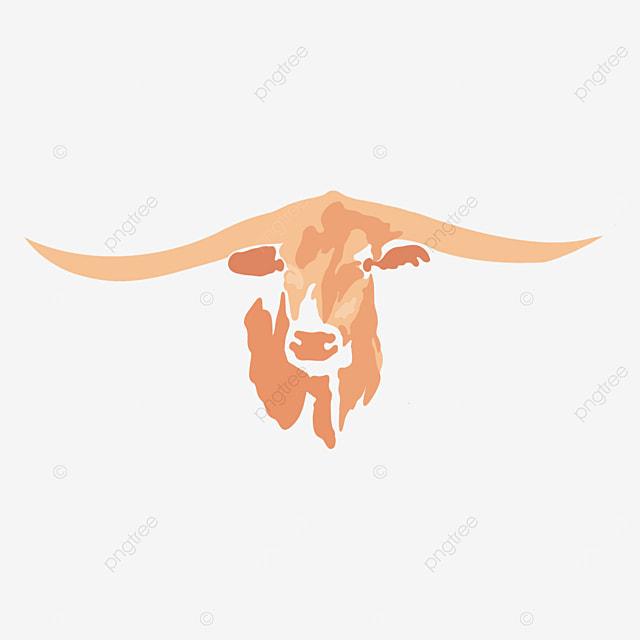 longhorn bull bull head clip art