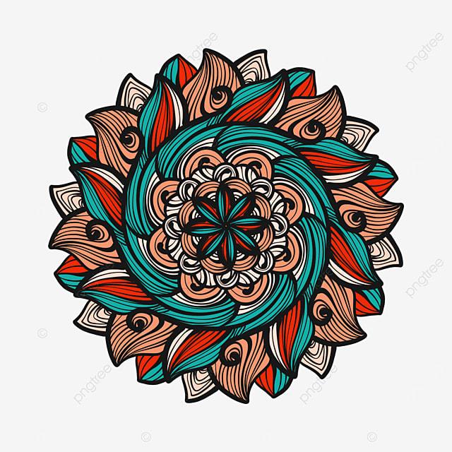 oriental mandala decorative pattern