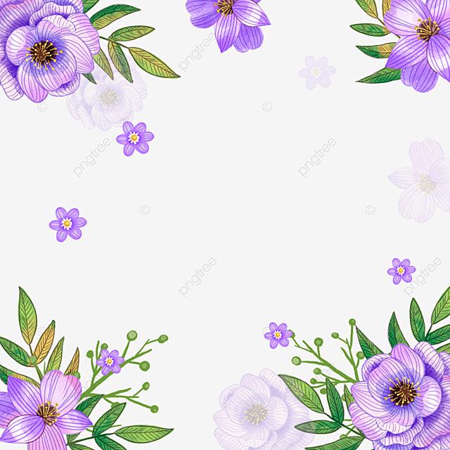 purple spring flower rosebush