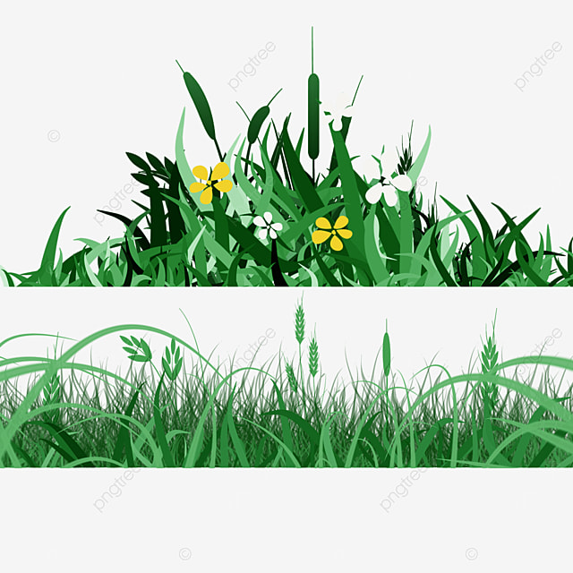 realistic flowers spring easter green meadow