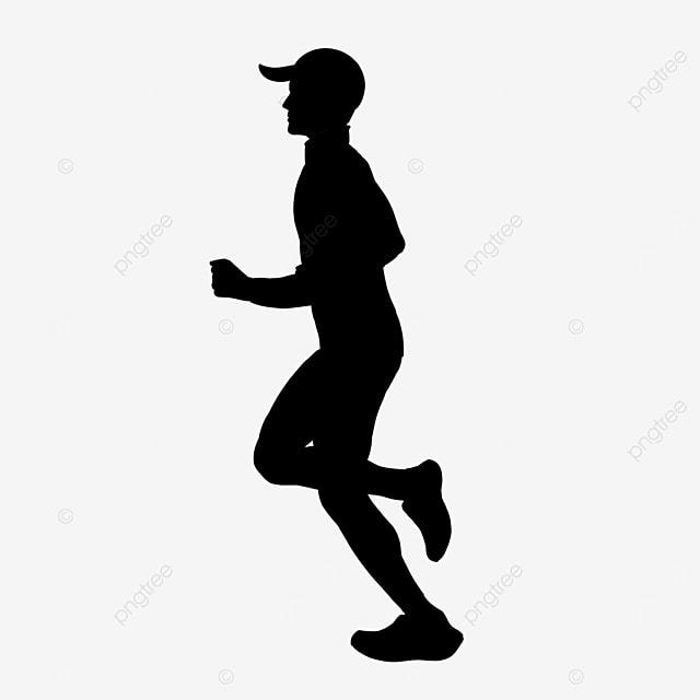 running man clipart