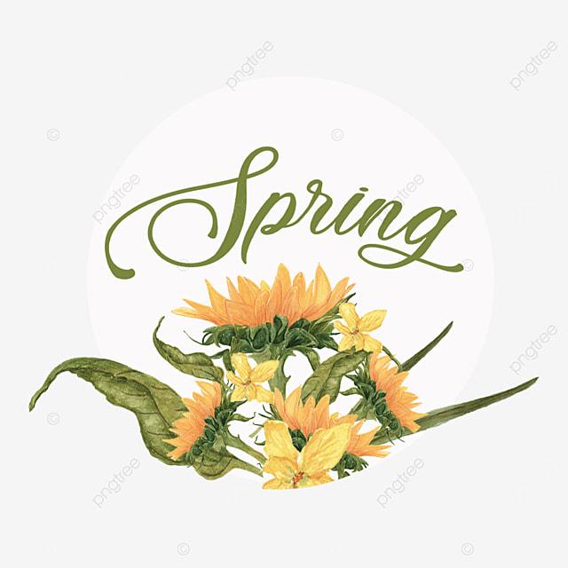simple spring font svg