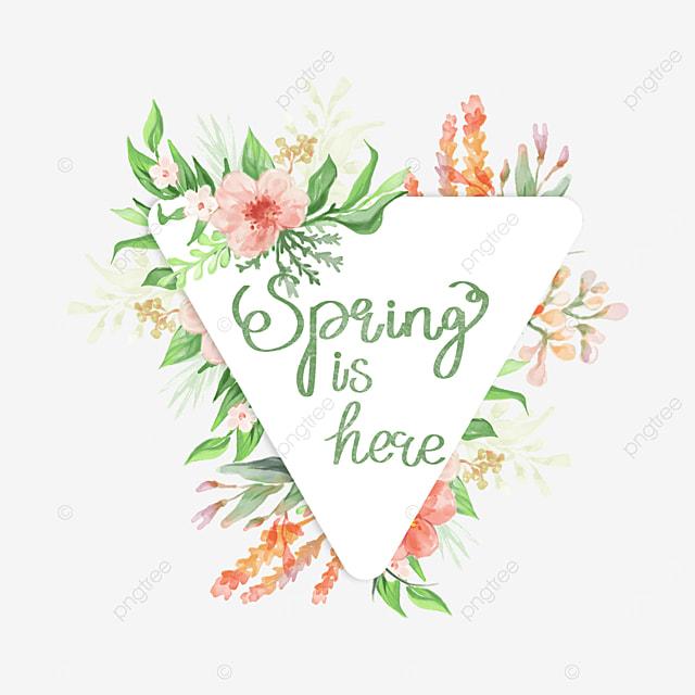 spring warm font svg