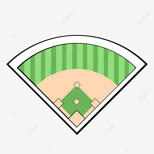 baseball field top clip art