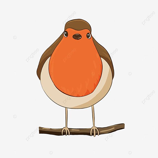 big belly red badge notification bird clip art