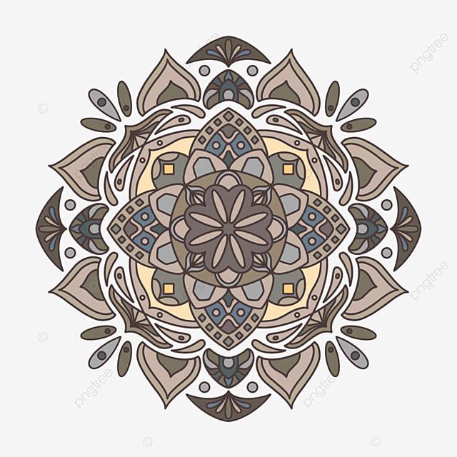 dark mandala ornament abstract texture
