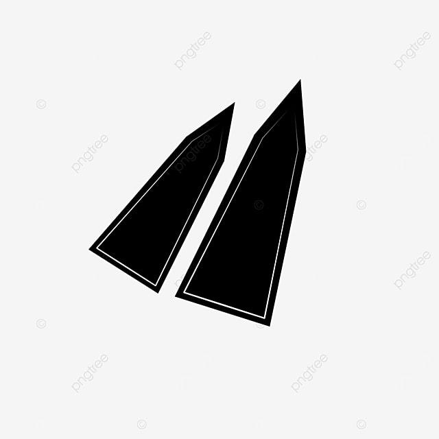 flat arrow clip art