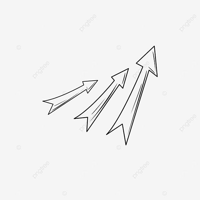 flying arrow clip art