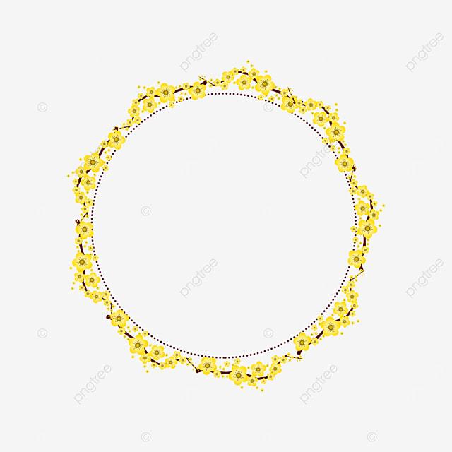 golden yellow flower plant border