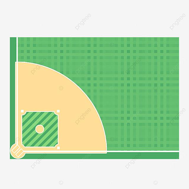 green grass baseball field clip art