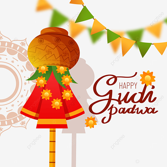 gudi padwa traditional decoration for hindu new year
