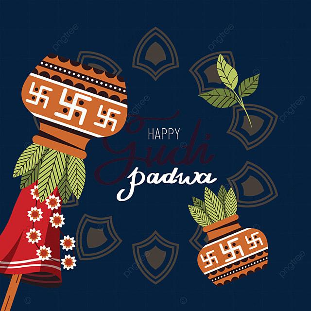 gudi padwa traditional jars for hindu new year