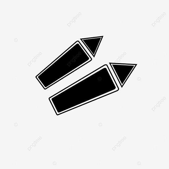 hollowed arrow clip art