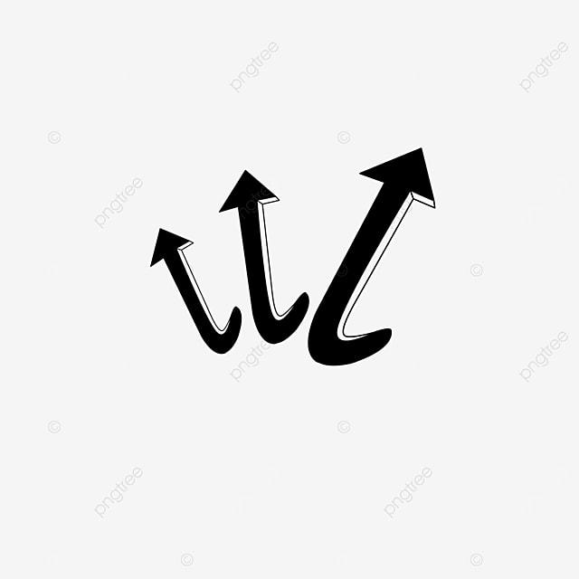 hooked arrow clip art
