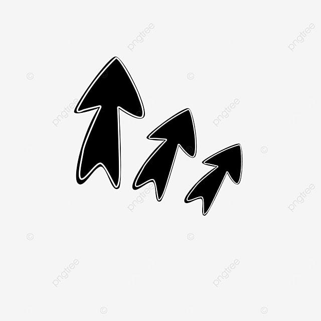lively arrow clip art
