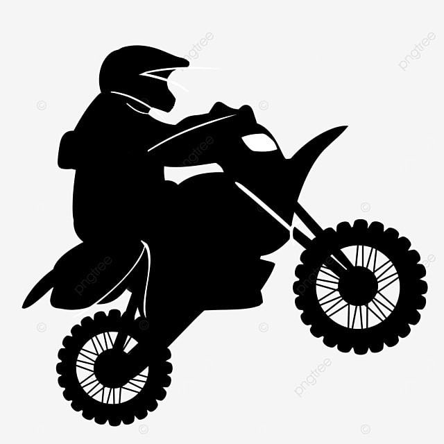 man riding a buggy clipart