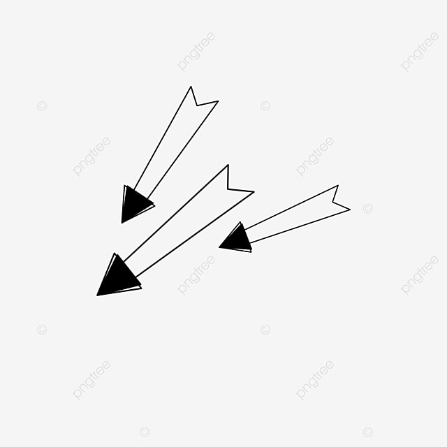 polygonal arrow clip art