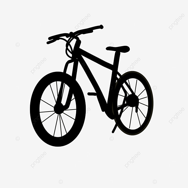 transportation small transport bicycle clip art black and white