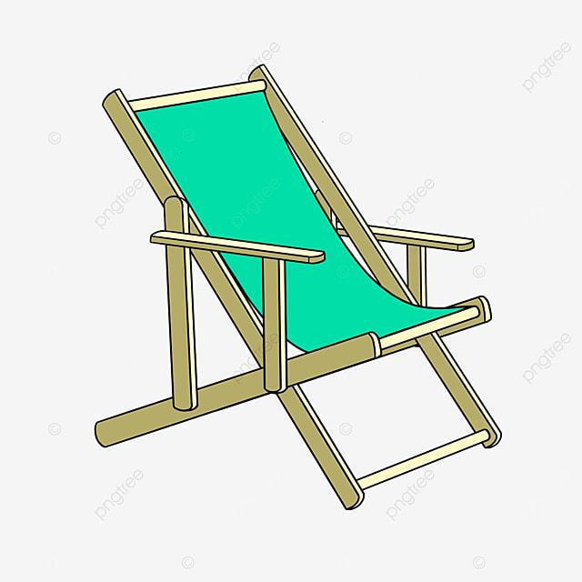 vacation beach chair clip art