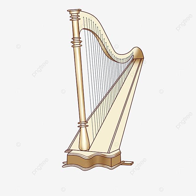 white harp clip art
