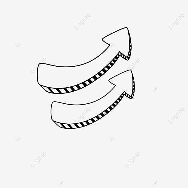 zebra striped arrow clip art