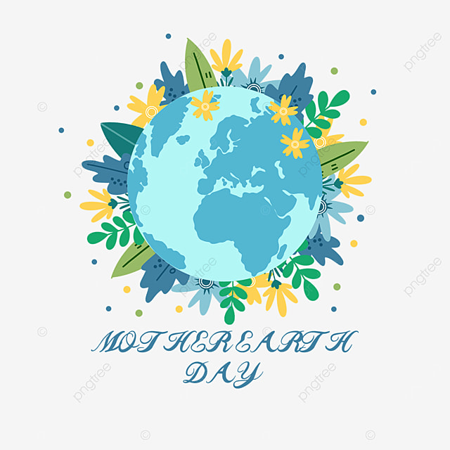 blue mother earth day thanksgiving plant protection