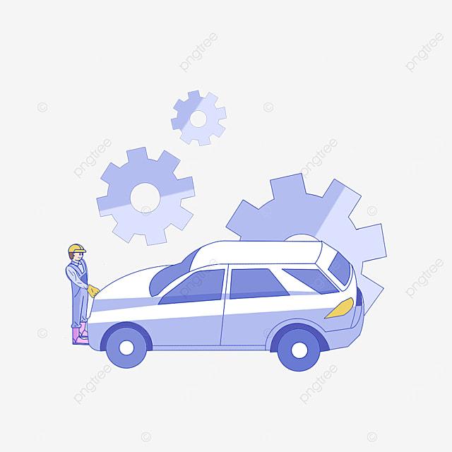 car repair service clipart