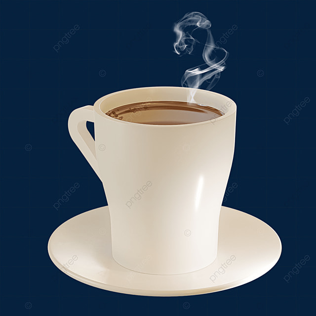 coffee cup and coffee on saucer