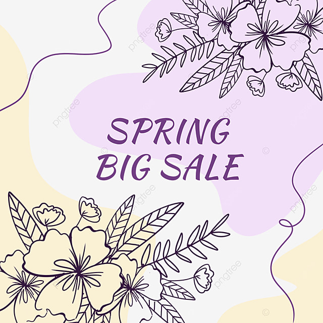 color block flower blooming linear draft sale discount