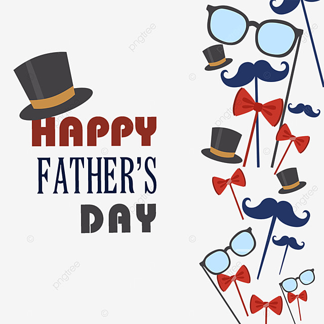 glasses happy fathers day border